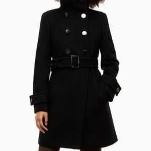 Aritzia Babaton Belt Black Wool & Cashmere Jacket